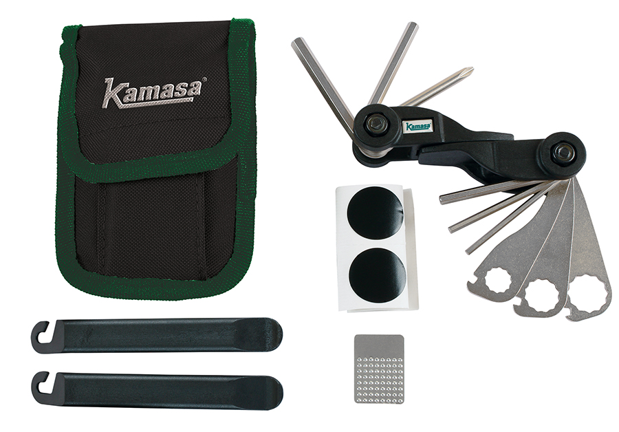 New multi-tool bicycle tool kit from Kamasa