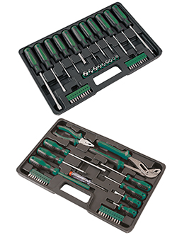 Versatile new tool sets from Kamasa