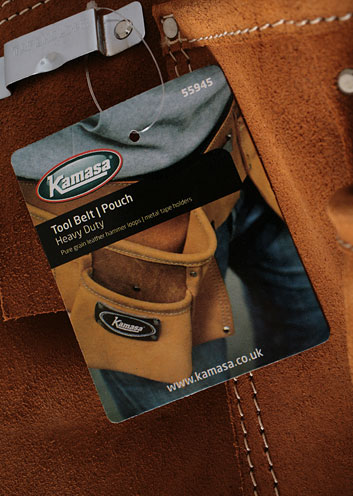PACKAGING image of Kamasa | 55945 | Tool Belt/Pouch Heavy Duty