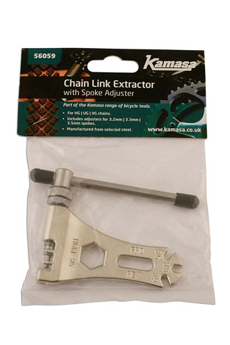 Packaging image of Kamasa | 56059 | Chain Link Extractor with Spoke Adjustor