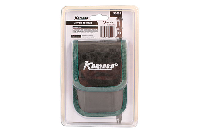 PackagingBack image of Kamasa | 56099 | Bicycle Tool Kit