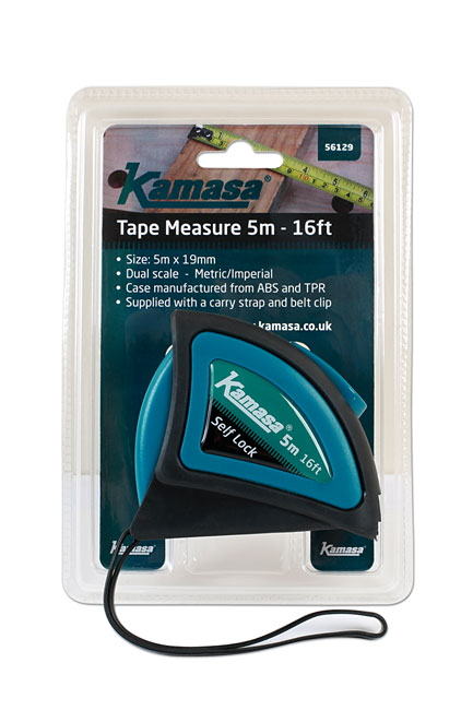 ~/items/xlarge/Packaging image of Kamasa | 56129 | Tape Measure 5m