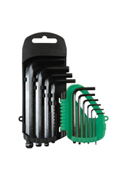 Product Image of Kamasa Hex Key Set - Short 10pc Part No. 56127